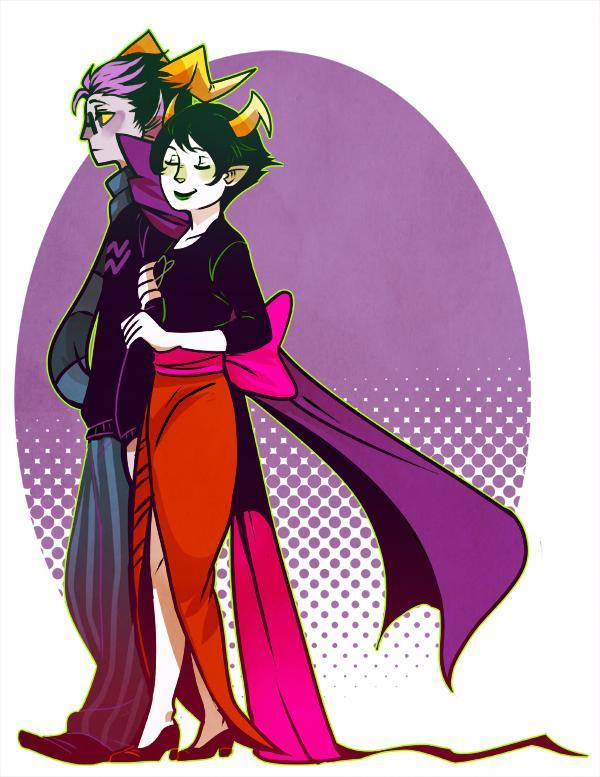 Homestuck- Kanaya or Eridan