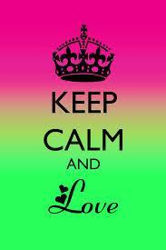 "Do you love ""Keep calm""?"