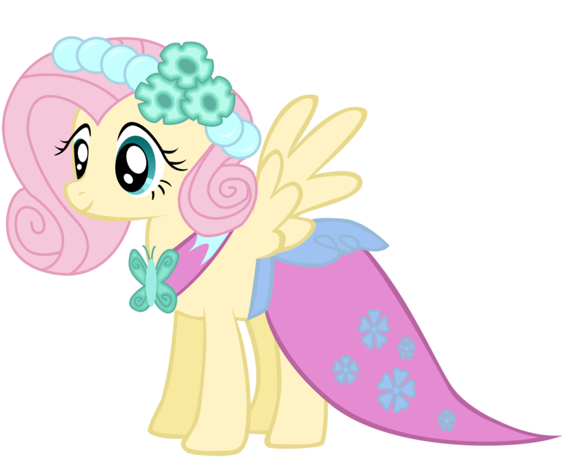 best dress style of fluttershy