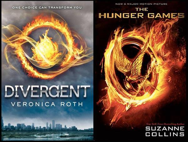 Divergent VS hunger games