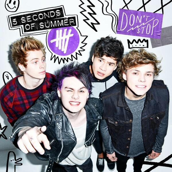 What is your favourite song from 5SOS's Don't Stop EP?