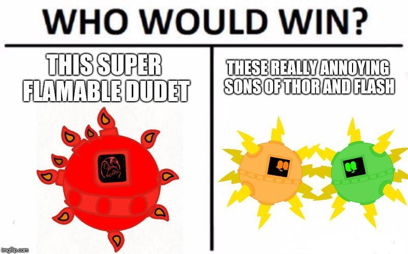 Who would win? (17)