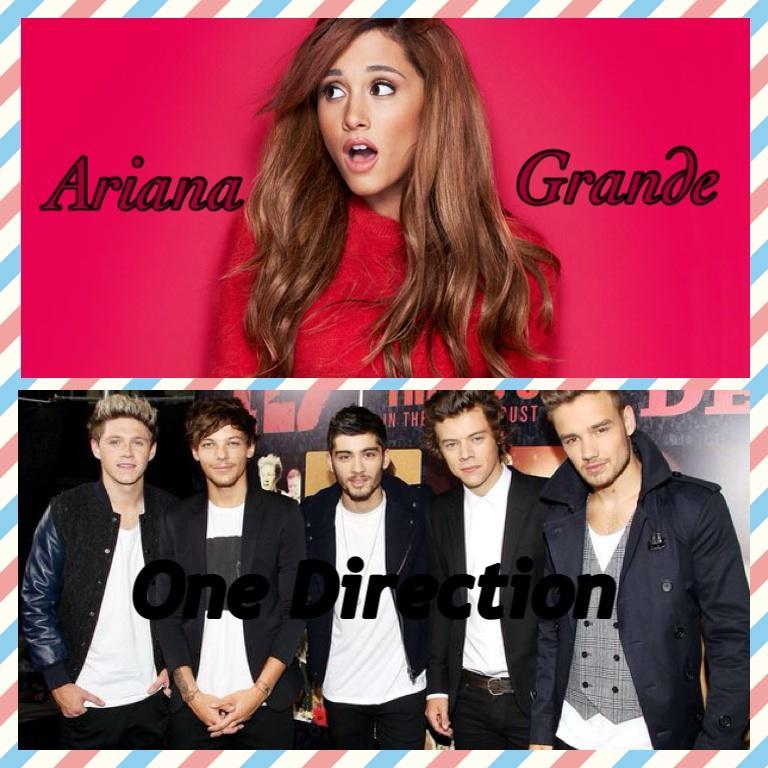 ARIANA GRANDE OR ONE DIRECTION?