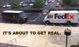 when you make a ship do you ship it like fedex or UPS?