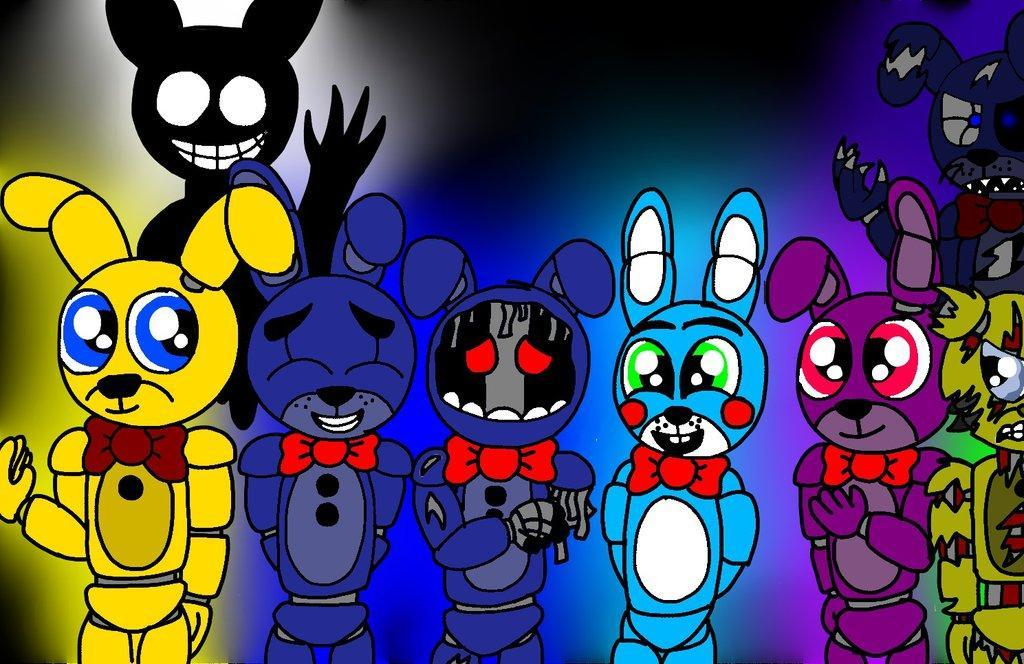Which Version Of Bonnie Is your Favourite?
