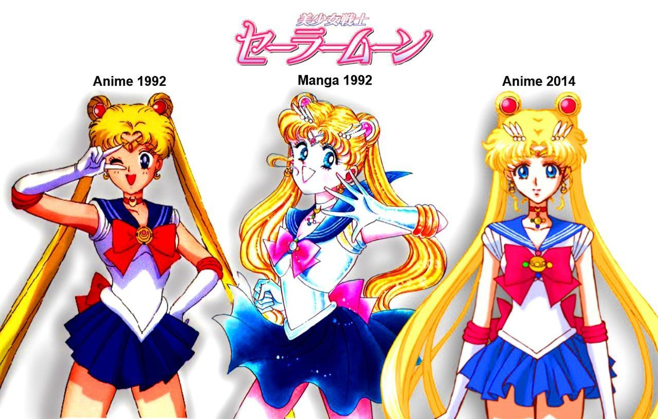 Which Way do You Prefer The Sailor Scouts should Look like?