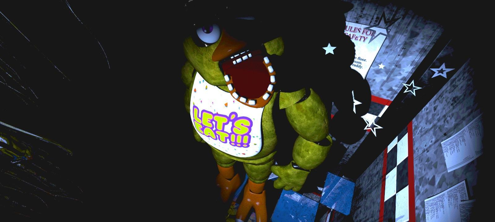(Fnaf 1) Which one was the scariest?