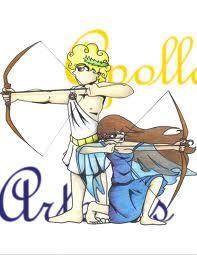 My Friend and I are going to be Apollo and Artemis for Halloween. Good Idea?