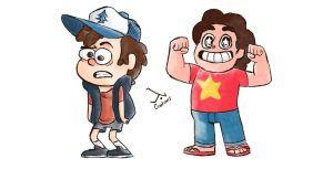 Beach city or Gravity Falls?