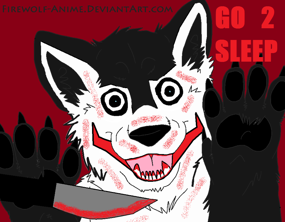 Which Jeff the Killer wolf looks better?