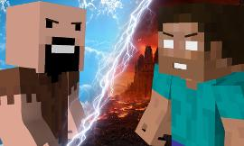 who would win notch or herobrine?