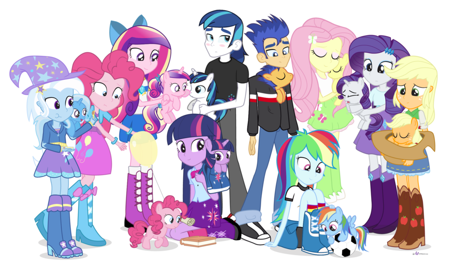 What background pony is your fave?