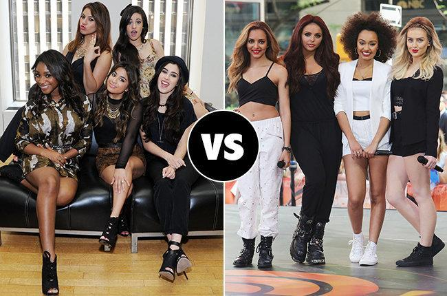 Fifth Harmony vs Little Mix (Celeb Wars)