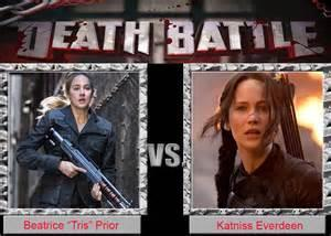 Who would win in a Fight? Tris or katniss