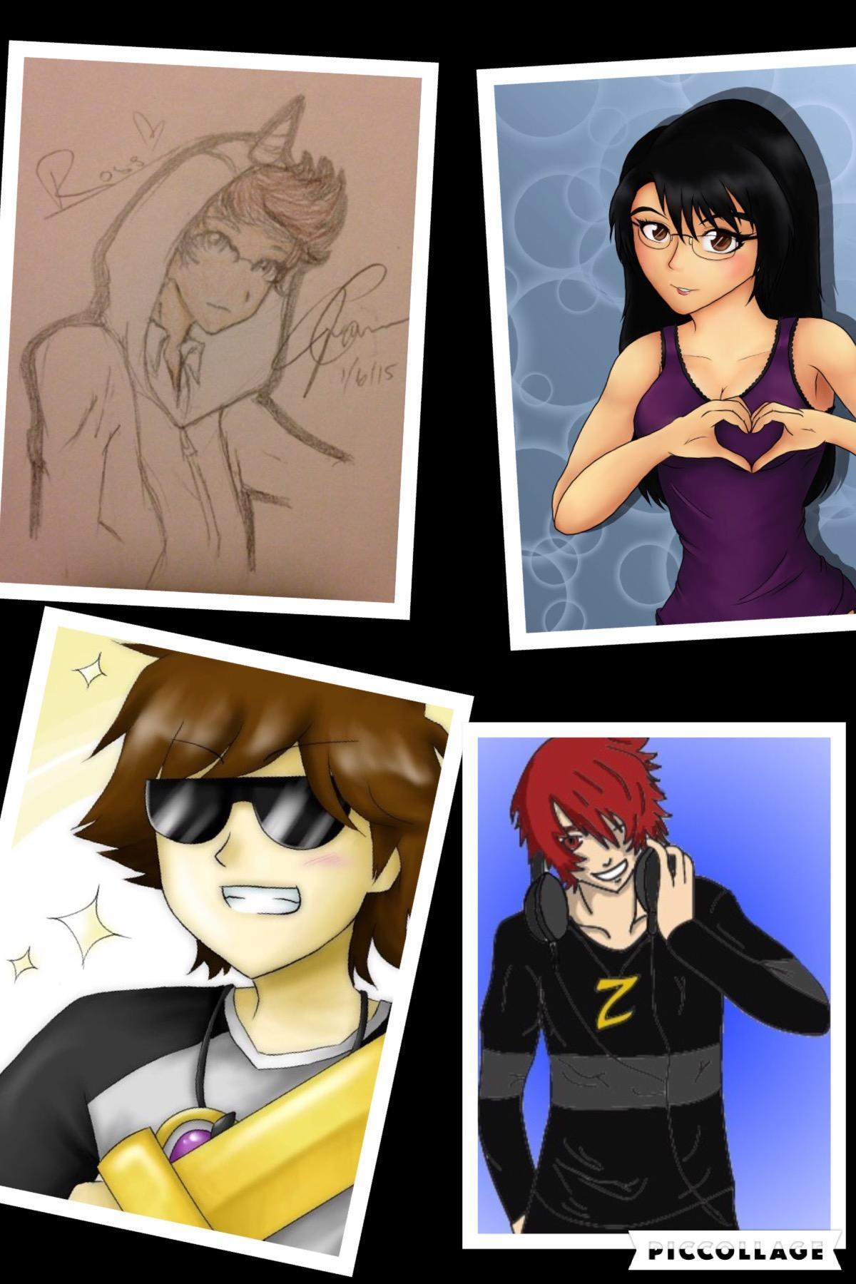 Sky, Aphmau, Ross, or Max