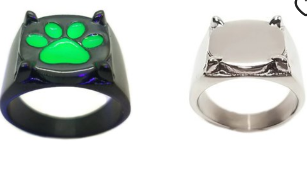 Silver or black and green?