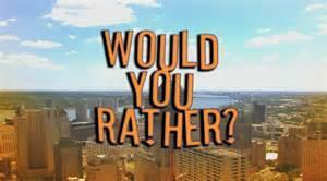 Would you rather? (Disney)