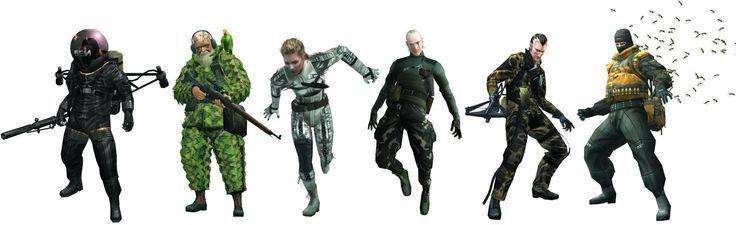 Who was your fav boss in metal gear solid 3 snake eater