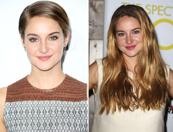 Which hairstyle do you like better on Shailene Woodley? (1)