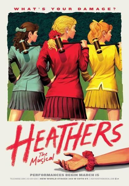 Who's your favorite character in The Heathers Musical?