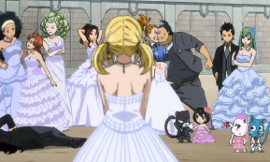 Fairy Tail: Wedding Dress Edition