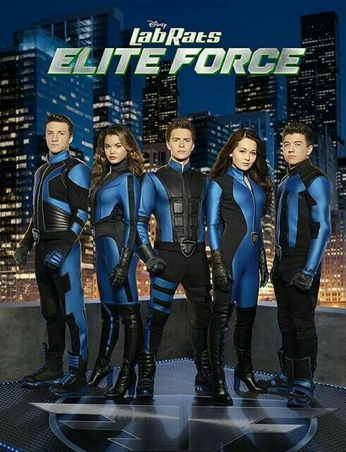 which Lab Rats: Elite Force character?
