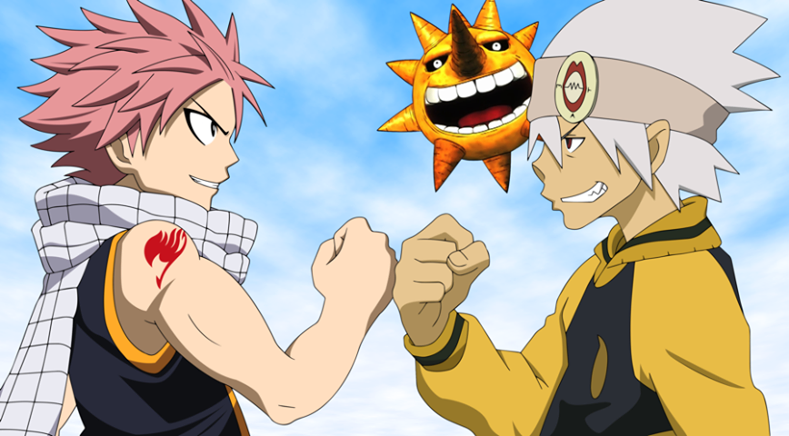 Fairy Tail vs Soul Eater