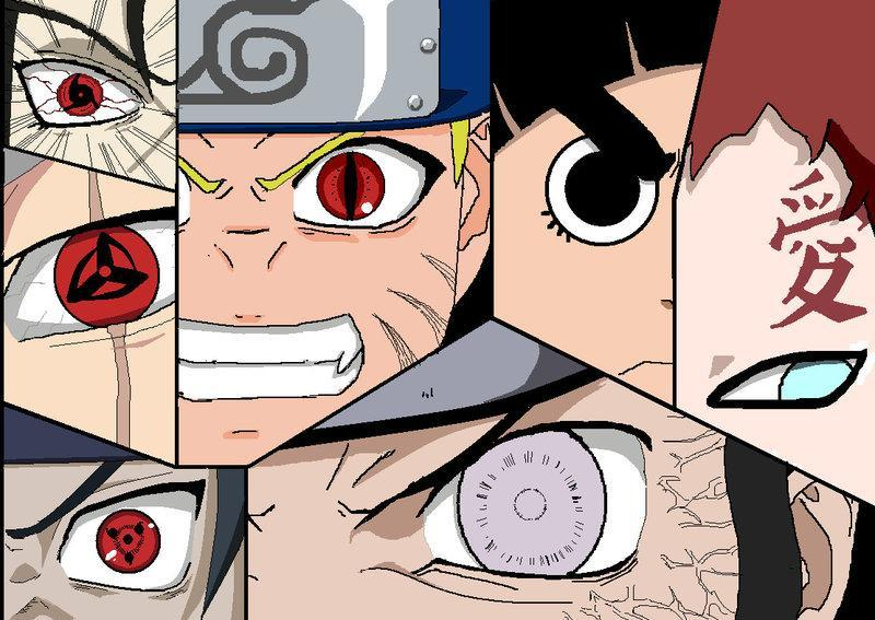 Choose your Naruto eye type!