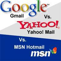 Hotmail or Gmail or Yahoo