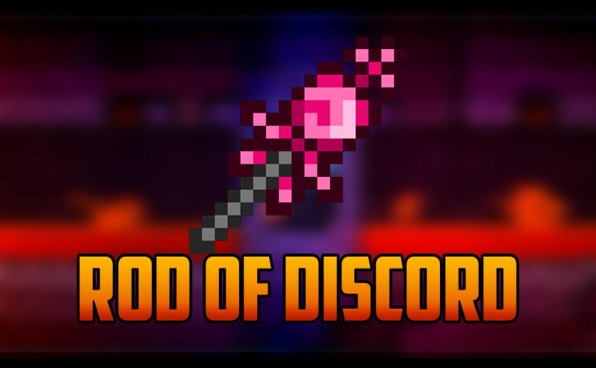 Does any of you have a rod of discord (i do but i heard it's very rare so i got curious)