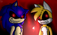 Sonic EXE or Tails Doll