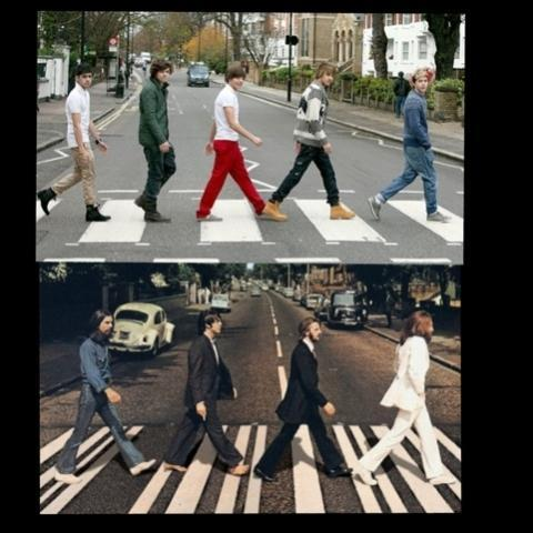 The Beatles VS One Direction (1)