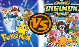 Pokemon vs digimon! (1)