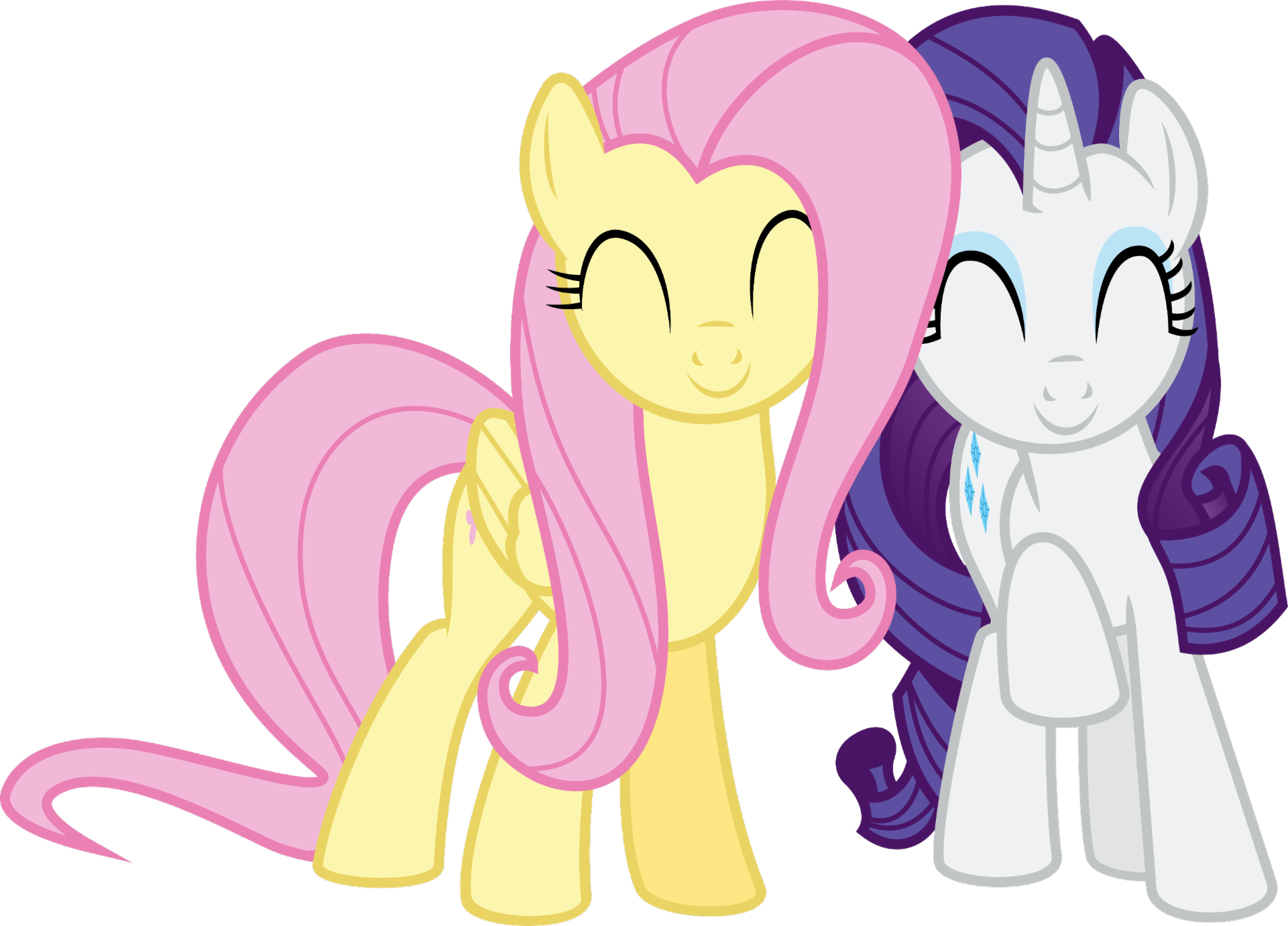 Would you rather...? with rarity and fluttershy