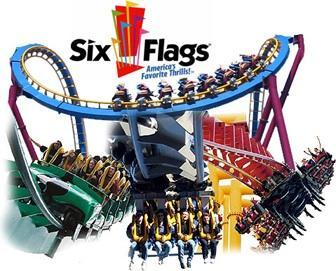 Your favorite roller coaster at six flags great adventure