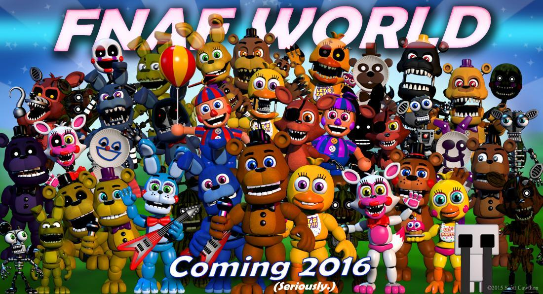 Who's your favorit FnaF World animatronic?