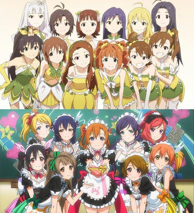 Which anime do you like more: Love Live! or Idolmaster?