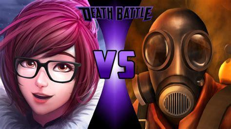 Mei vs Pyro (Fight)