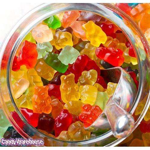 Gummybears or mushrooms?