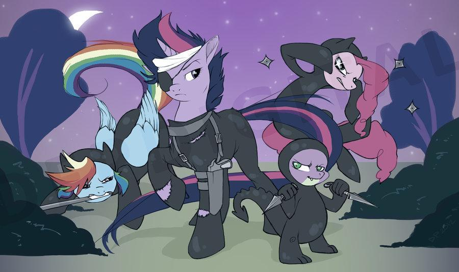 Best pony of these 4?