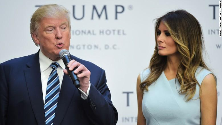 Do you think Donald Trump cheated on his wife, Melania?