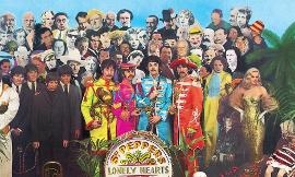 "Who sang the ""ahhs"" in the Beatles' ""A Day in the Life""?"