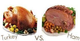 Ham vs turkey