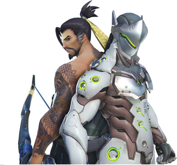Overwatch - Favorite Shimada Brother