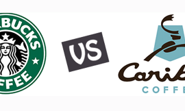Starbucks or Caribou?