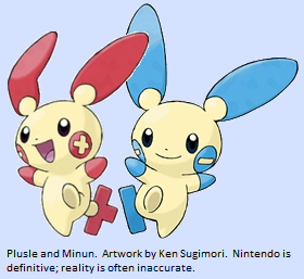 Minun or Plusle? (Pokemon)