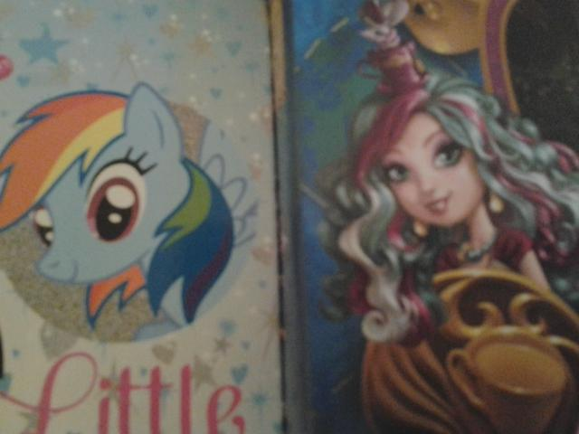 mlp vs eah (my little pony vs ever after high)