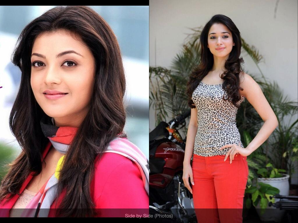 Do you like Kajal Aggarwal more or Tamanna Bhatia?