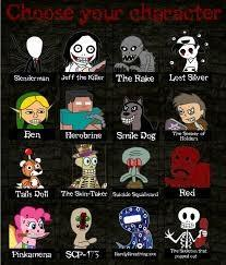 Which Creepypasta?