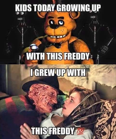 Which Freddy do you prefer?